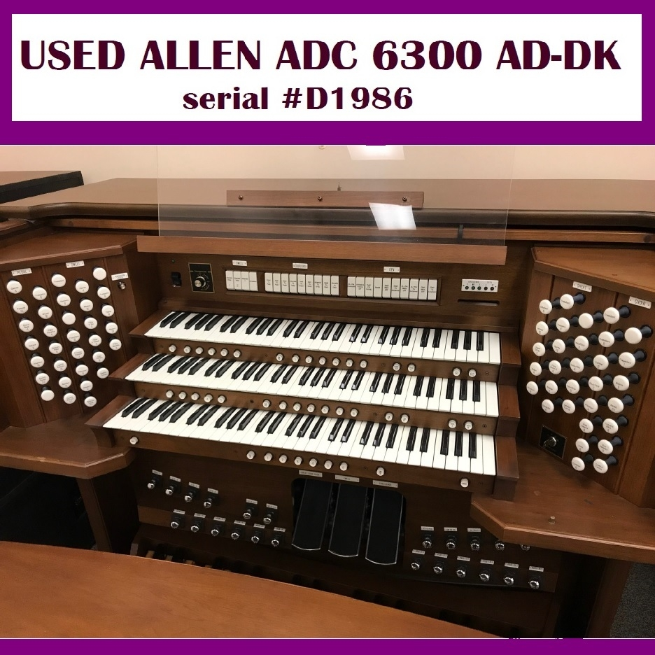 Used Allen Organ - Pre-Owned Organs For Sale in Michigan - Buys Used