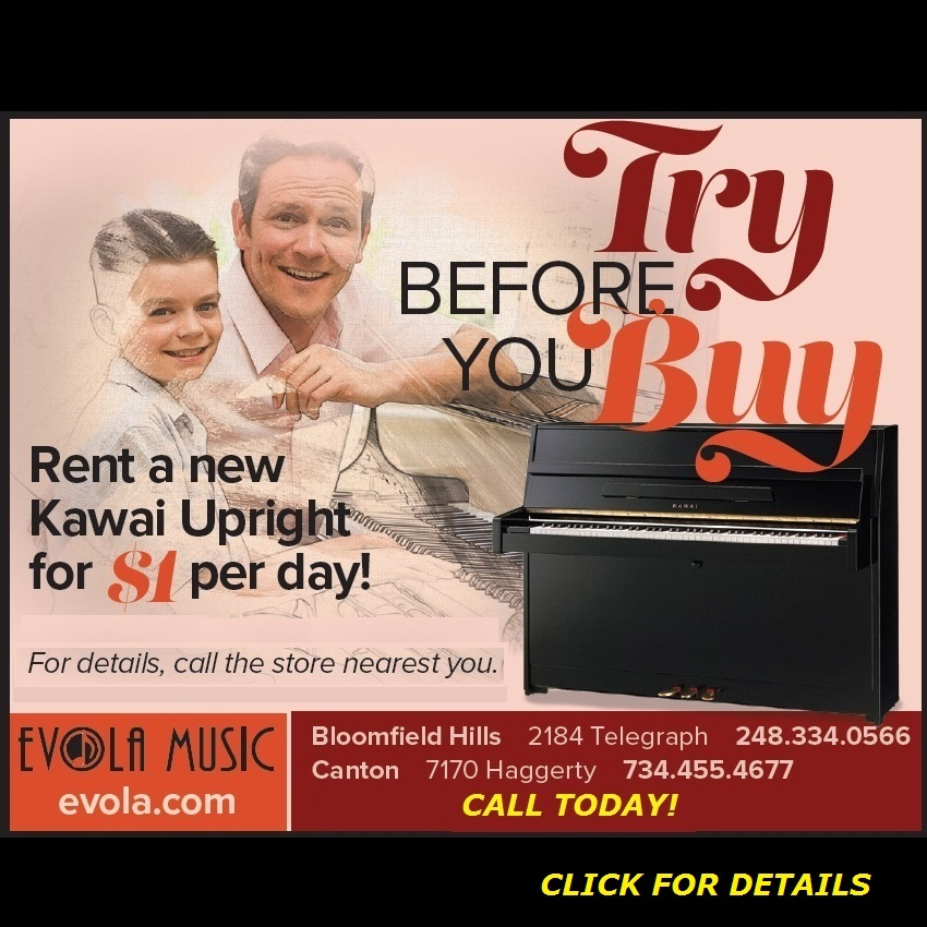 Promotions and Deals on Pianos and Organs in Michigan - Evola Music - TryB4YouBuy_color1_2019aNO_SUN
