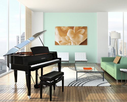 Hybrid Pianos for Sale in Michigan - Yamaha & Kawai Brands - Evola Music - hybrid-piano-room-image-1