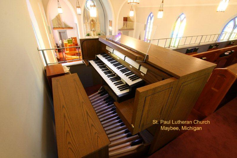 Church Organs for sale in Michigan - Evola Music - maybee003-Copy