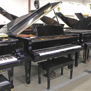 A Young Chang 6-Foot 1-Inch Grand Piano