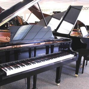 "Used Yamaha 5'8"" Grand Piano"